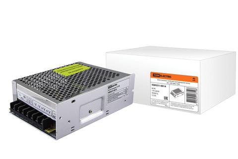 Блок питания 60Вт-12В-IP20  для светодиодных лент и модулей, метал TDM
