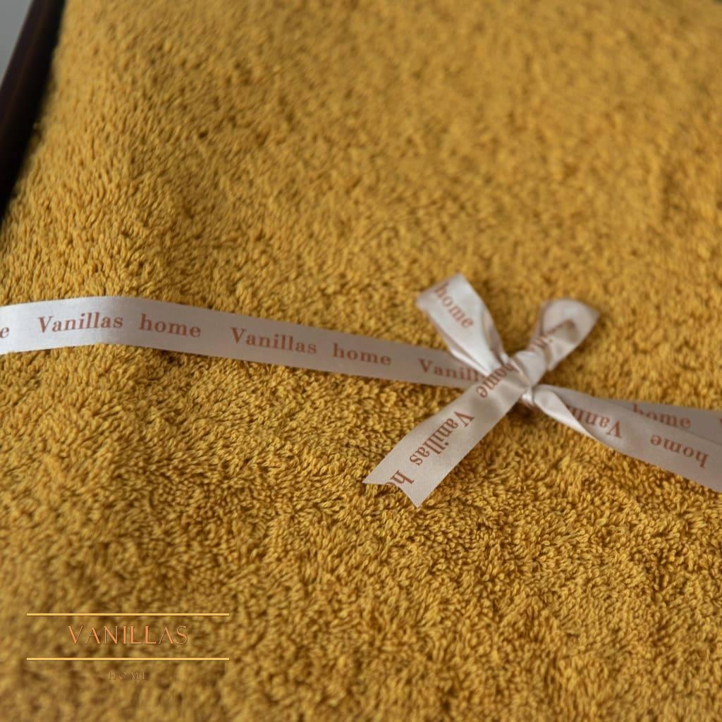 Полотенце махровое Фьюджи медовое