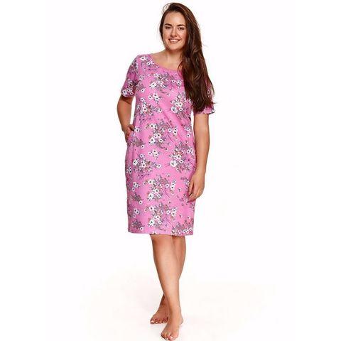 Домашнее платье Nessa (BS) розовое