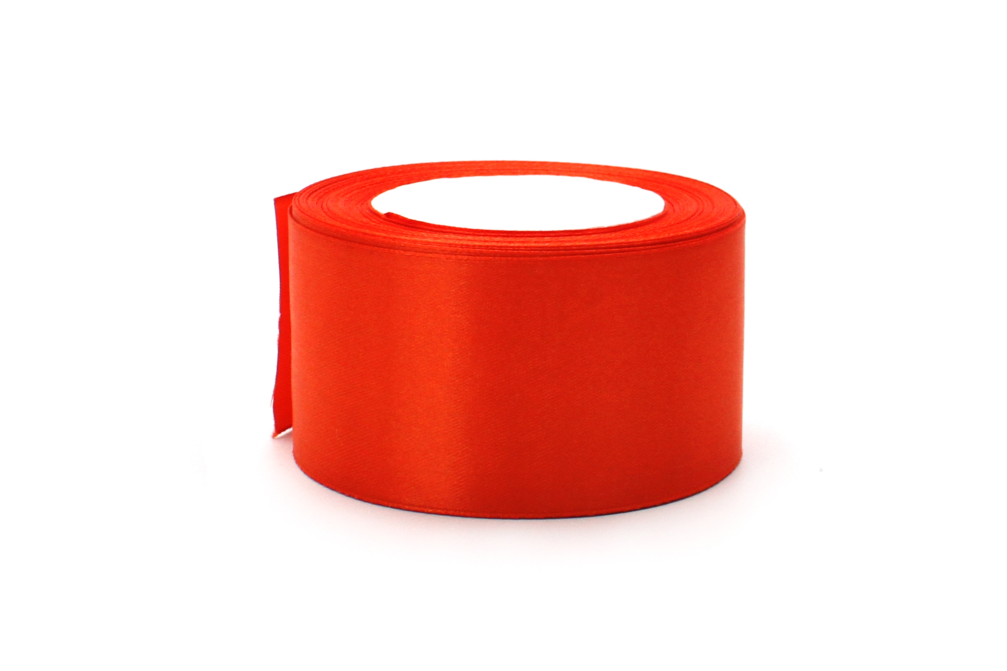 Лента атласная,5 см, оранж