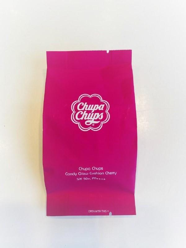 Запаска на кушон Chupa Chups Candy Glow Cushion Cherry 2.0 Shell SPF50