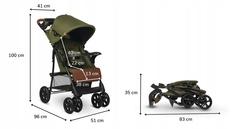 Прогулочная коляска Lionelo LO-Emma Plus Forest Green