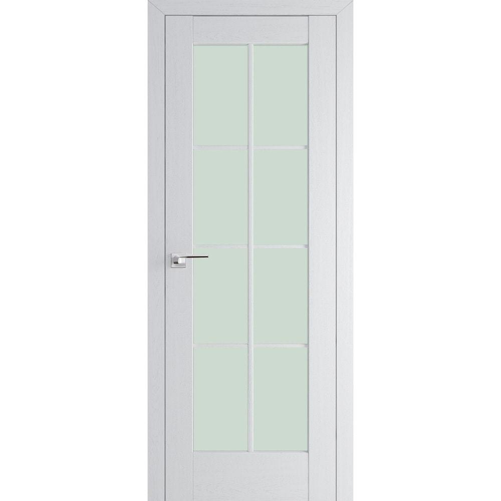 Нестандартные Межкомнатная дверь экошпон Profil Doors 101X пекан белый остеклённая 101X-pekan-beliy-min.jpg