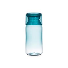 Пластиковая банка с мерным стаканом (1,3 л), Мятный
