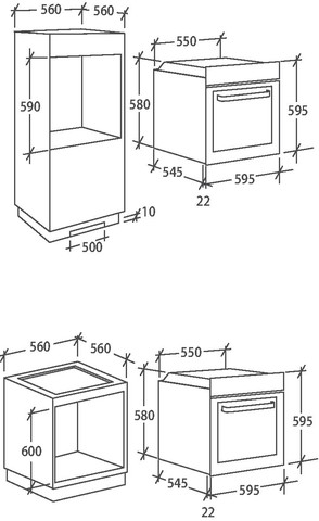 Духовой шкаф Candy FCS612X/E
