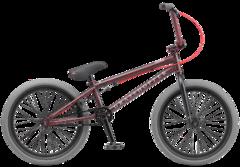 Велосипед BMX TechTeam Grasshopper (2020) Красно-серый