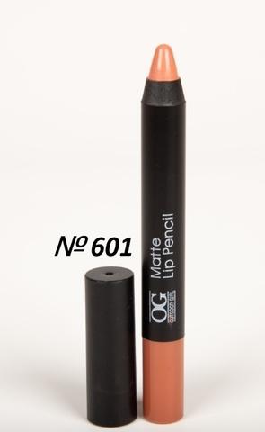 OG-FP3011B Помада-карандаш тон 601 кофе МАТОВАЯ Matte Lip Pencil PRO