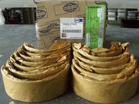 Вкладыши коренные коленчатого вала, стандарт / KIT, BEARING АРТ: 10000-27023