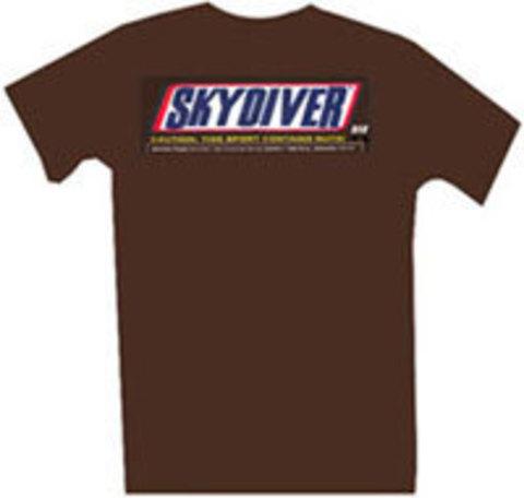 Парашютная футболка Chocolate Skydiver