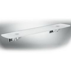 Полка стеклянная Colombo Portofino хром B3216 60см.