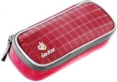 Пенал школьный Deuter School Pencil Case raspberry check