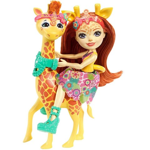Джилиан и жираф. Энчантималс