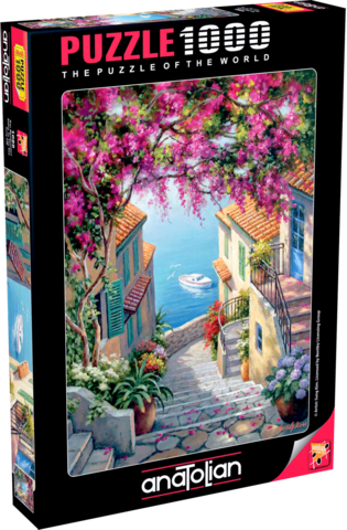 Puzzle Kıyı Merdivenleri. Stairs To The Sea 1000 pcs