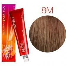 Matrix Color Sync: Mocha 8M светлый блондин мокка, крем-краска без аммиака, 90мл