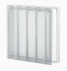 Купить стеклоблок бесцветный матовый  DORIC 19х19х8 не дорого