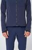 Элитная непромокаемая беговая куртка Gri Ростов мужская темно-синяя