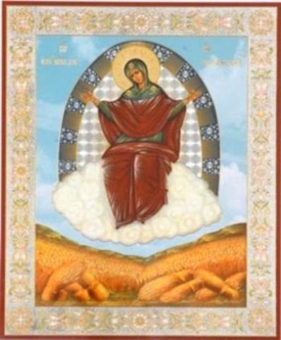 Икона Божией Матери Спорительница хлебов