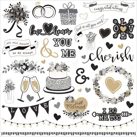 Стикеры We Do Stickers Elements - 30х30см.