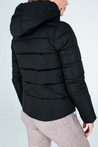 Куртка пуховик на синтепоне с капюшоном купить