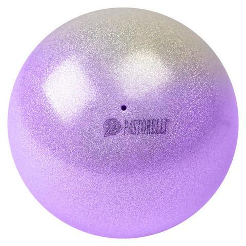 Мяч PASTORELLI  Glitter HIGH VISION с переходом цвета  18см