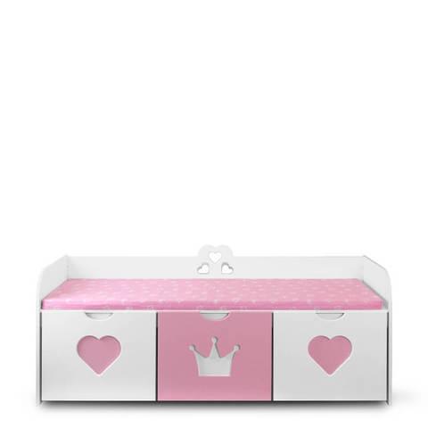 Скамья с выкатными ящиками для игрушек