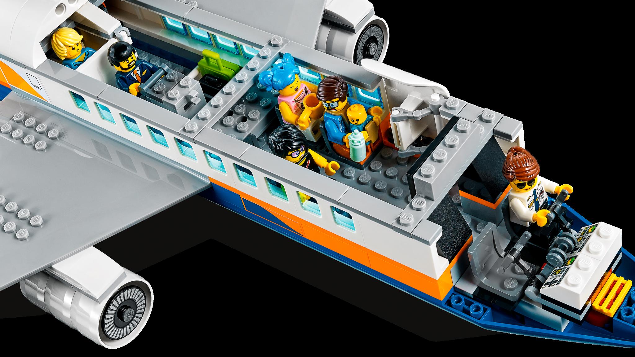 LEGO City 60262 Конструктор ЛЕГО Город Пассажирский самолет