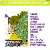 Paul Paray / Orchestral Music by Maurice Ravel & Jacques Ibert (LP)