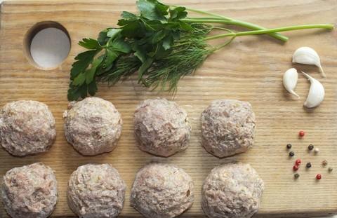 Тефтели мясные с грибами