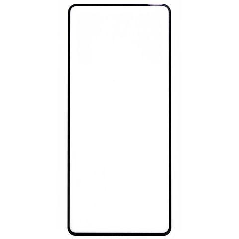 Защитное стекло для Samsung Galaxy A51 (SM-A515F) с черной рамкой 2,5D Full Glue