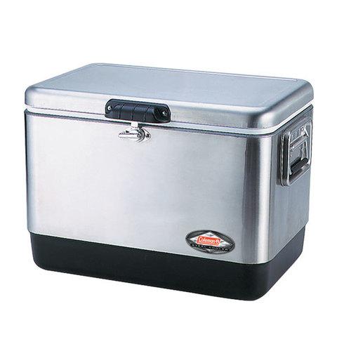Термоконтейнер Coleman 54 Quart Stainless Steel Cooler (изотермический, 51л)