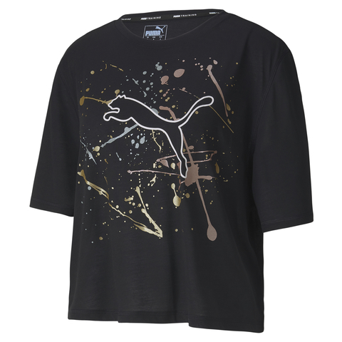 Футболка PUMA Metal Splash Graphic Tee Puma Black