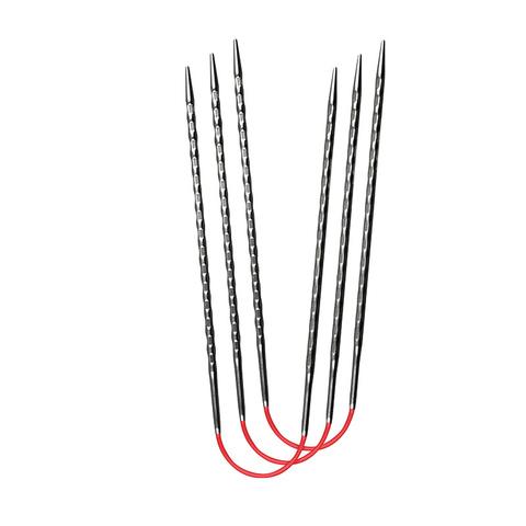 Спицы металлические круговые супергладкие c квадратным кончиком addiCrasyTrioNovel Long №3,25 , 30 см