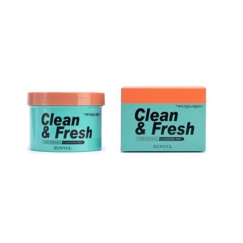 Подушечки очищающие для снятия макияжа Eunyul Clean & Fresh Pure Radiance Cleansing Pad 70шт