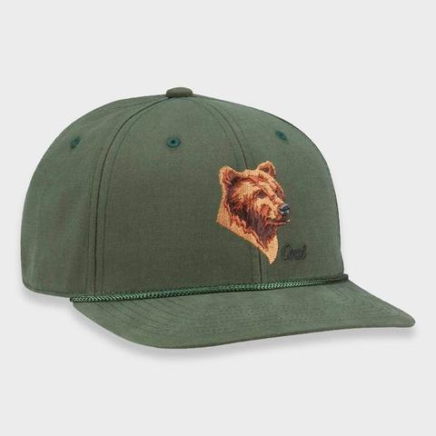 Кепка COAL WILDERNESS LOW SP FOREST GREEN (BEAR)