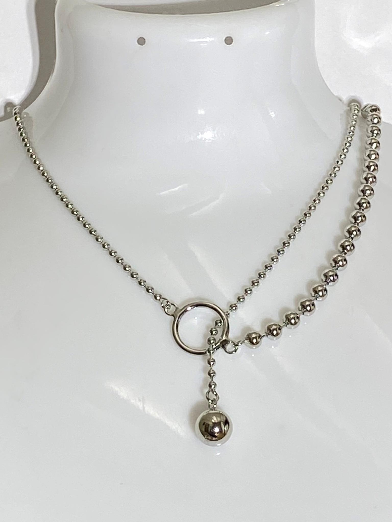 Перлина 5030 (колье-чокер из серебра)