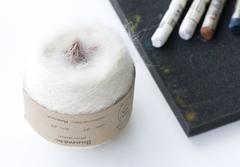 цвет 007 / белый мрамор, перламутр, розовая камея