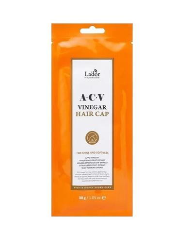 Lador Маска-шапка для волос ACV VINEGAR HAIR CAP 30гр