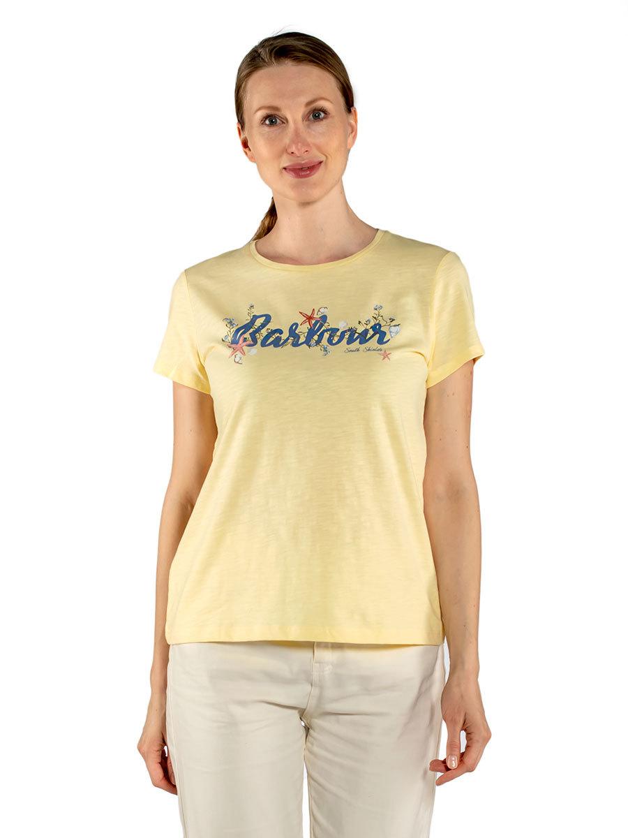 Barbour футболка Folkestone Tee LTS0492/YE14