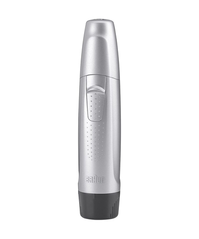 Триммер для носа и ушей Braun EN10 (от 1 батарейки AAA), серебристый