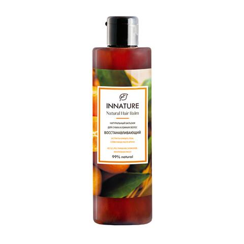 Натуральный бальзам для сухих и ломких волос Восстанавливающий | Innature