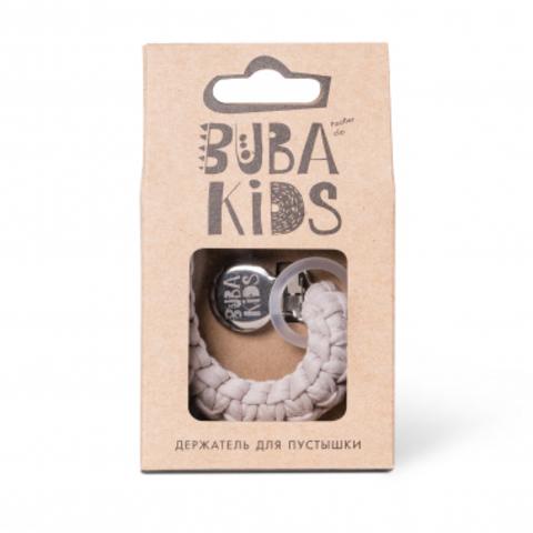 Прищепка-держатель для соски текстильный BUBA Kids Миндаль