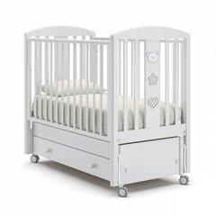 Кровать детская Дени Люкс белый