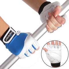 Перчатки для фитнеса женские открытые пальцы, р-р S-L