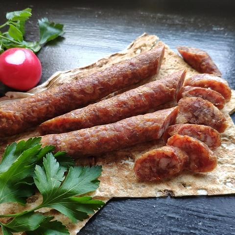 Фотография Кнуты-колбаски Вестфальские сырокопченые / 200 гр купить в магазине Афлора