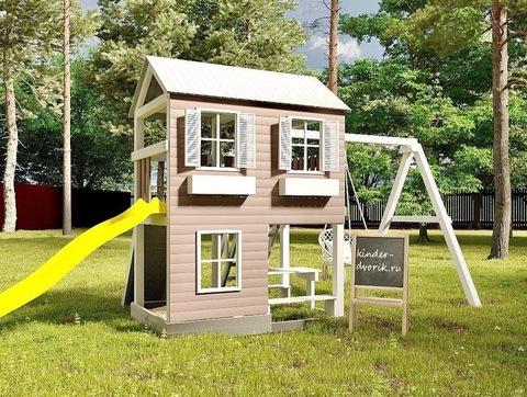 Детская площадка домик