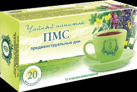 Чайный напиток «ПМС», ф/п, 20 шт, кор. (ИП Гордеев М.В.)