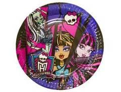"""Тарелки """"Monster High"""""""