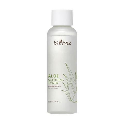 Isntree Aloe Soothing Toner Успокаивающий тонер с экстрактом алоэ
