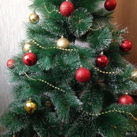 Ель сосна с шишками Новогодняя красавица 210 см
