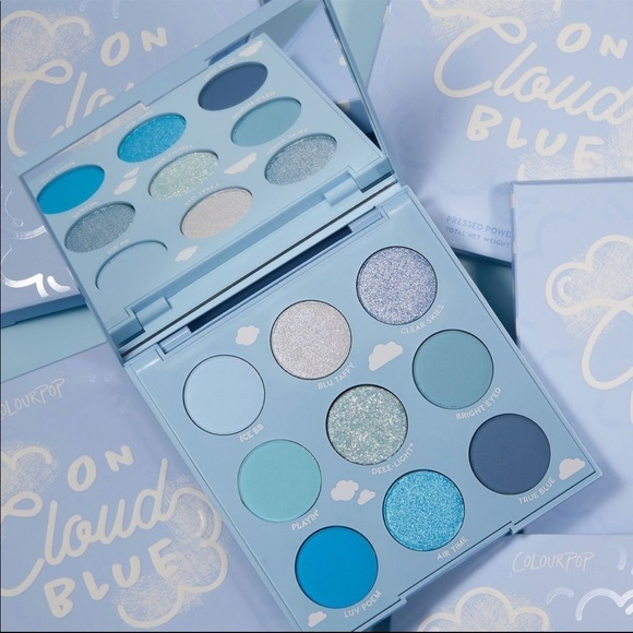 ColourPop On Cloud Blue shadow palette